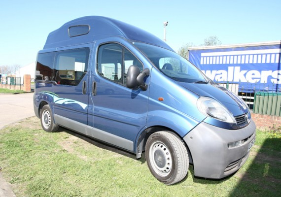 Vauxhall Van Conversion