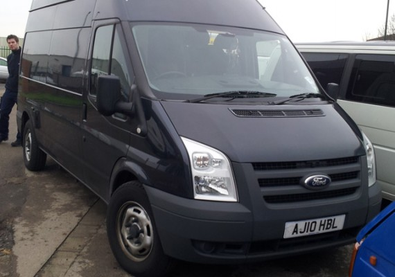 Chris' Ford Transit Conversion