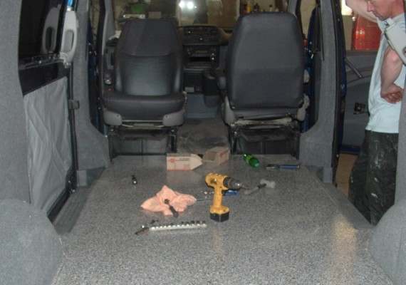 Interior Van Conversion